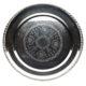Dækketallerken Ø 27 cm. - sølv