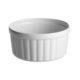 Souffleskål lille - hvid